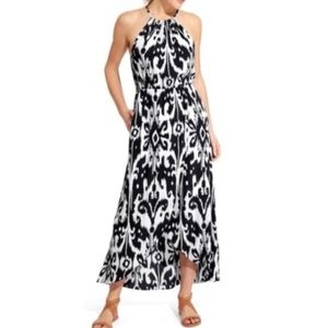 Athleta Ikat Print Maxi Dress